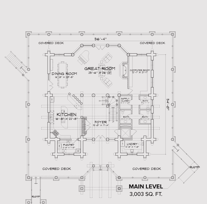 Norwood Main Floor Plan