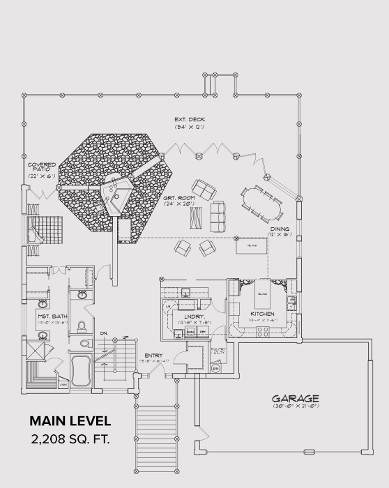 Noxon Main Floor Plan