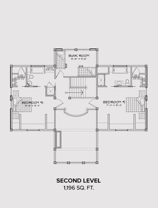 Okanogan Second Floor Plan