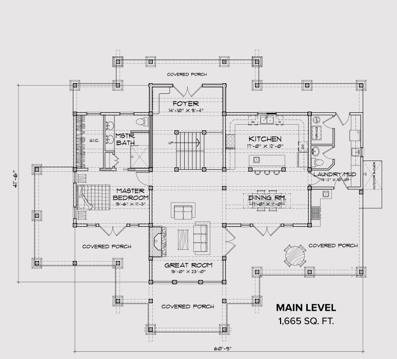 Okanogan Main Floor Plan
