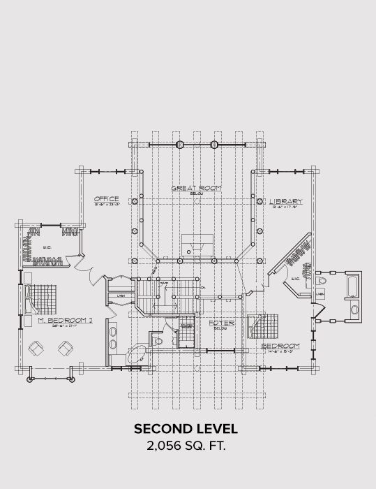 Orderville Second Floor Plan
