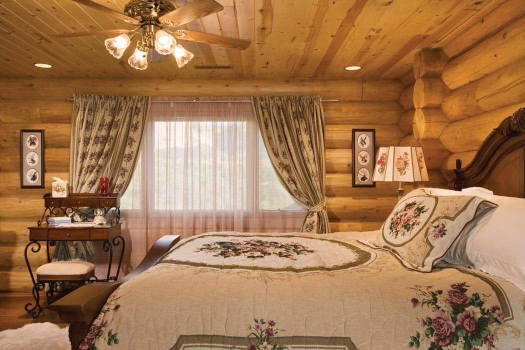 Orderville Utah Log Home By Precisioncraft