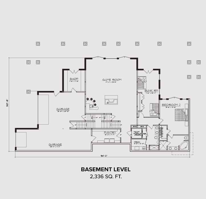 Orderville Basement Floor Plan