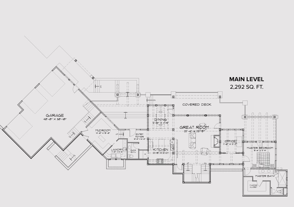 Park City Residence – City House Floor Plans