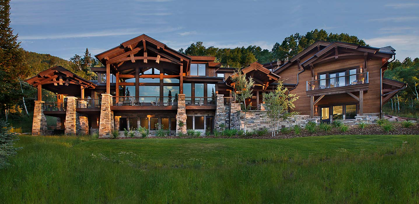 Park City Timber Home