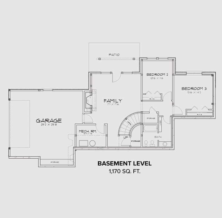 Pocatello Basement Floor Plan