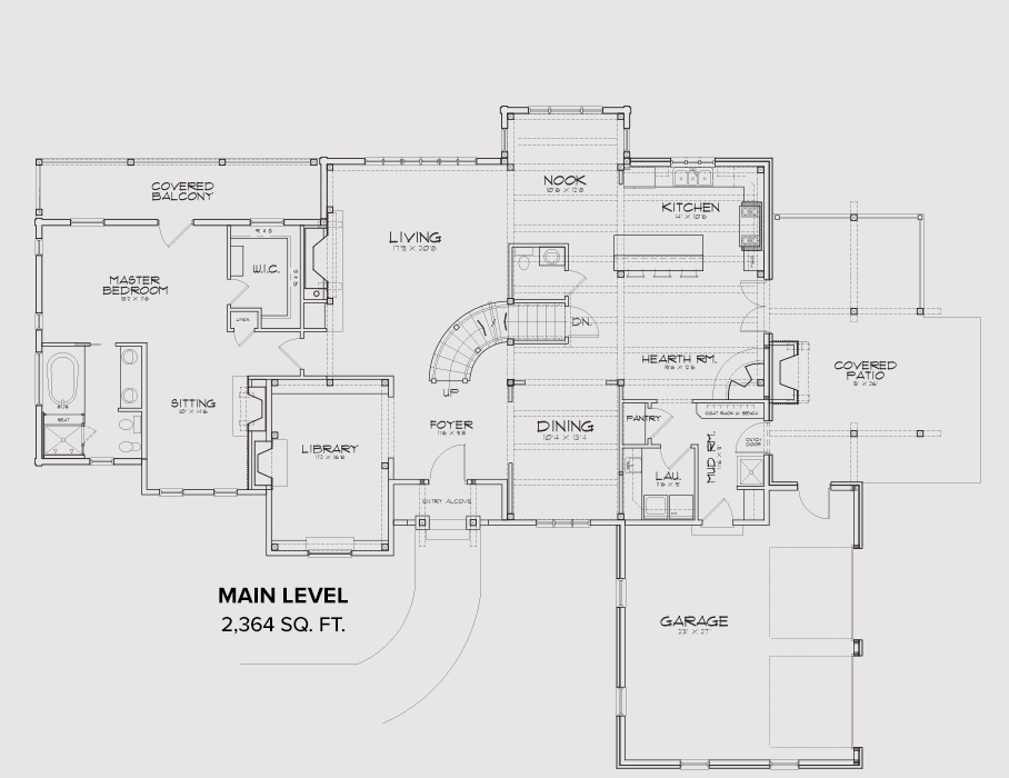 Pocatello Main Floor Plan