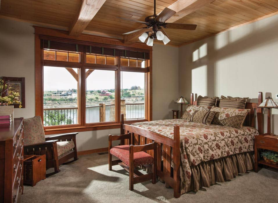 Possum Kingdom Master Bedroom