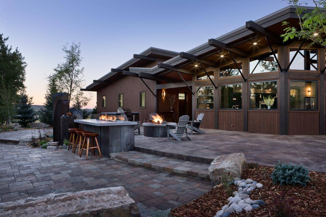 Red Lodge Outdoor Kitchen