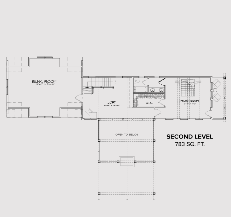 Rock Creek Second Floor Plan