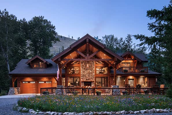 Timber Frame Home Rock Creek Residence