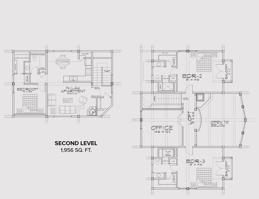 Sandpoint Second Floor Plan