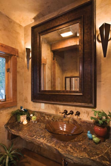 Sandpoint Powder Room