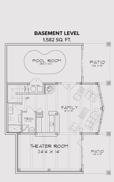 Sandpoint Basement Floor Plan