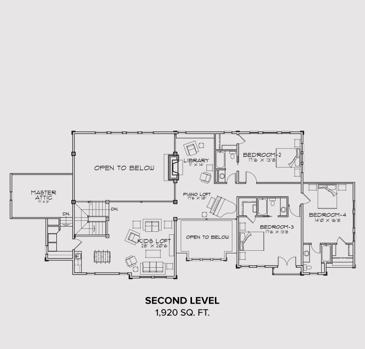 Show Low Second Floor Plan