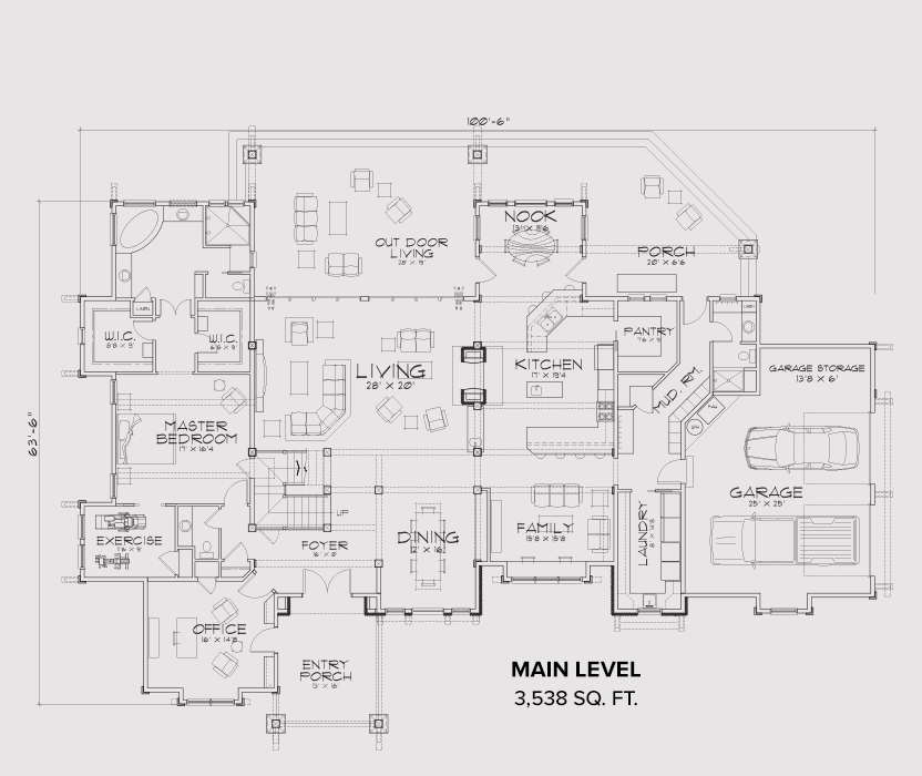 Show Low Main Floor Plan