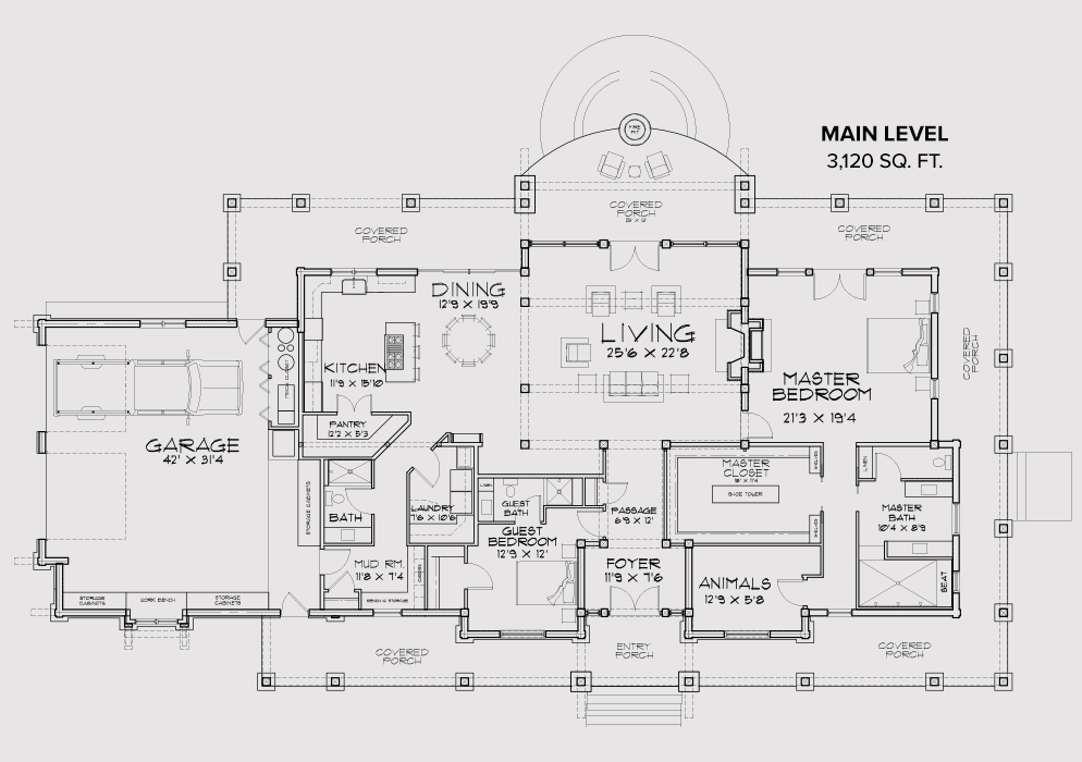 Silver Valley main floor plan