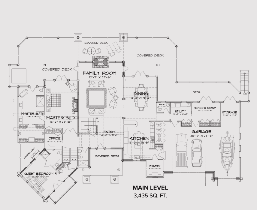 South Fork Main Floor Plan