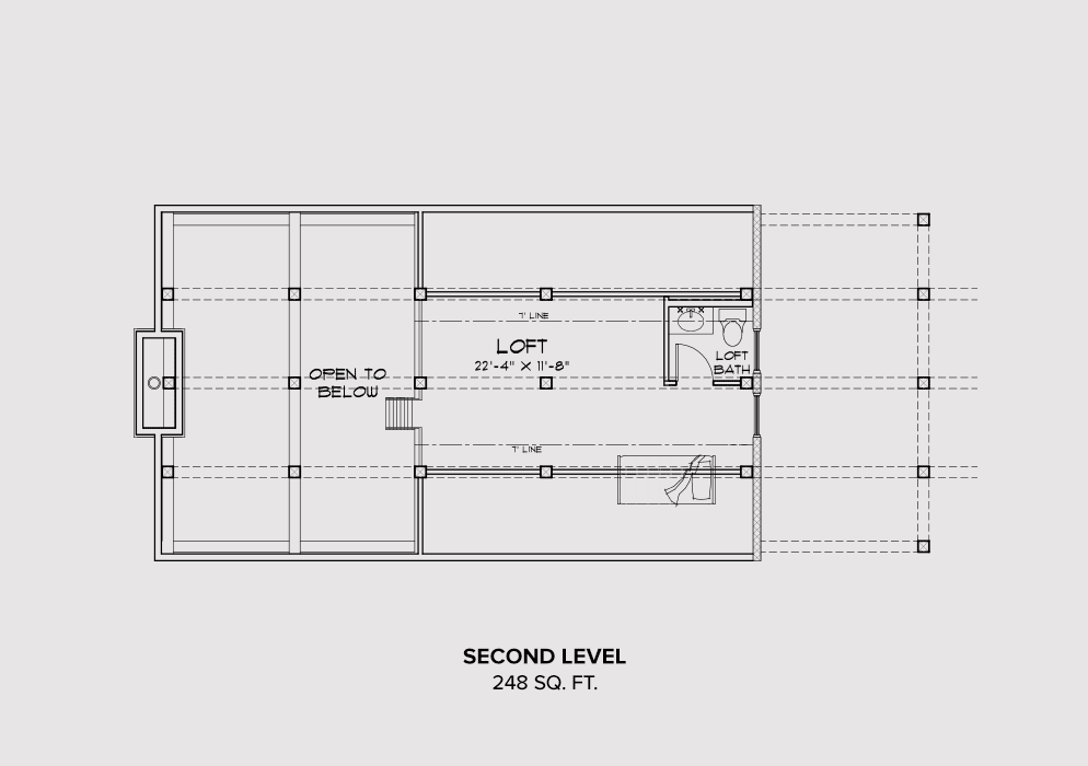 Steamboat Second Floor Plan