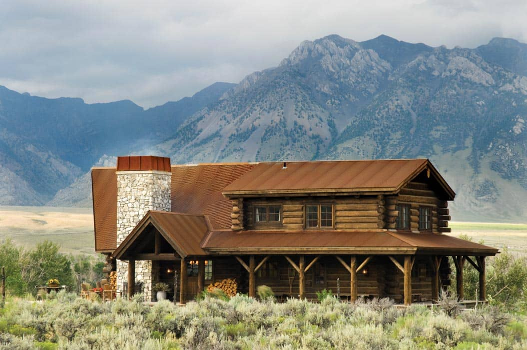Sun Valley Rustic Roof