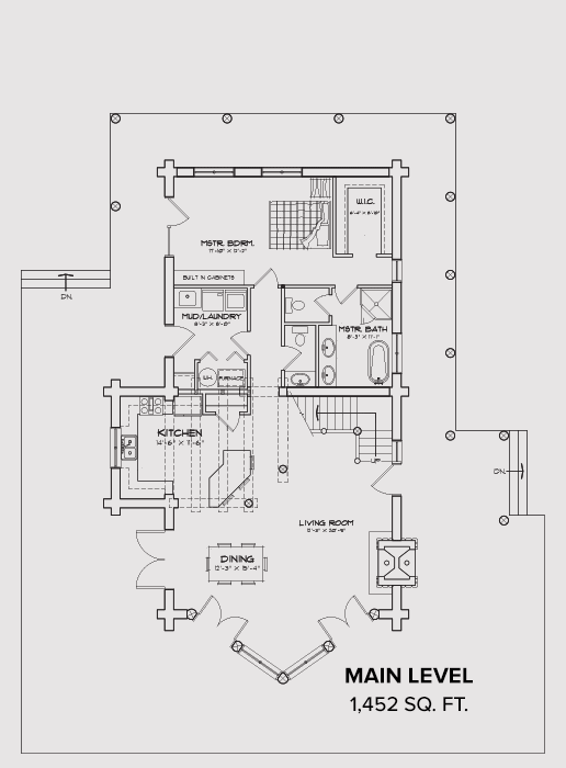 Sun Valley Main Floor Plan