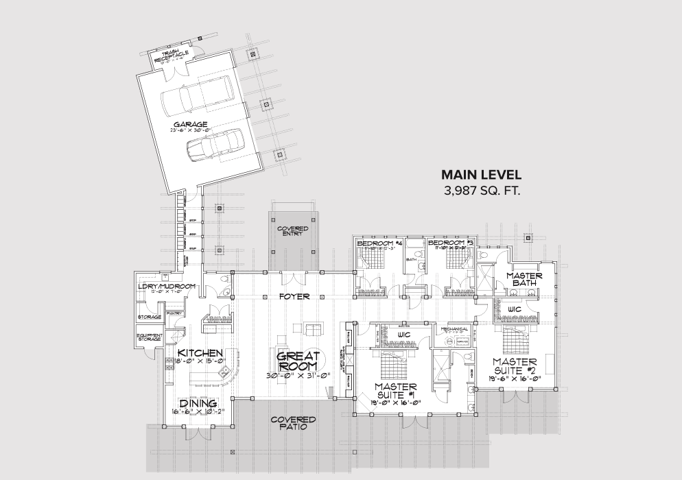 Suncadia Main Floor Plan