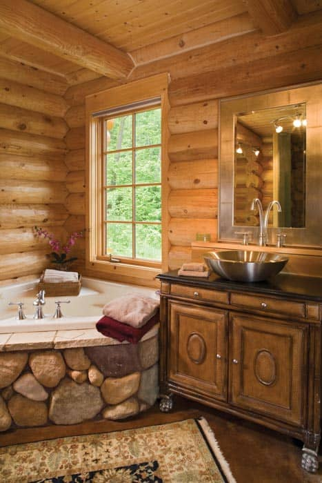 Sunday River Master Bath
