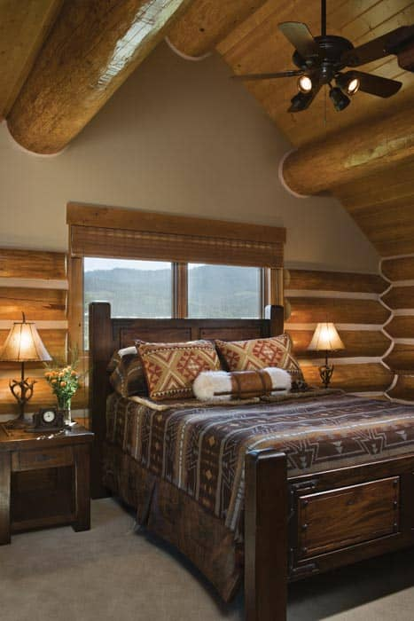 Teton Springs Second Story Bedroom