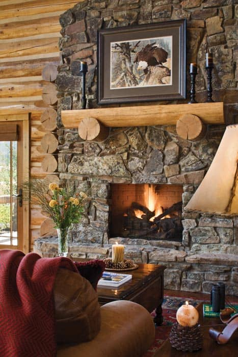 Teton Springs Fireplace