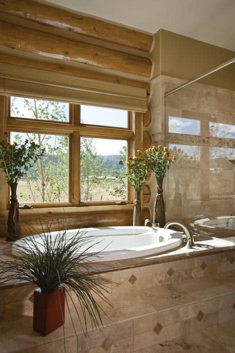 Teton Springs Master Bath