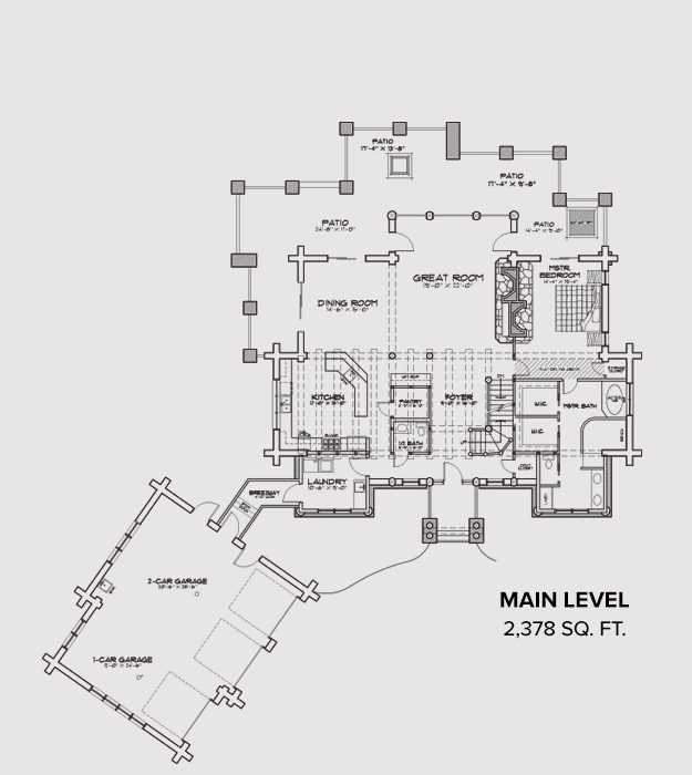 Teton Springs Main Floor Plan