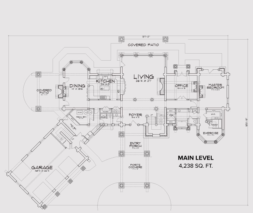 Jackson County Main Floor Plan