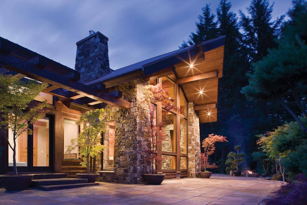 Washington Timber Frame Home By Precisioncraft