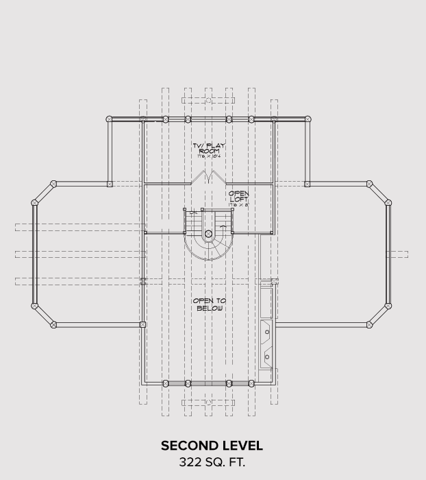 Windermere Second Floor Plan