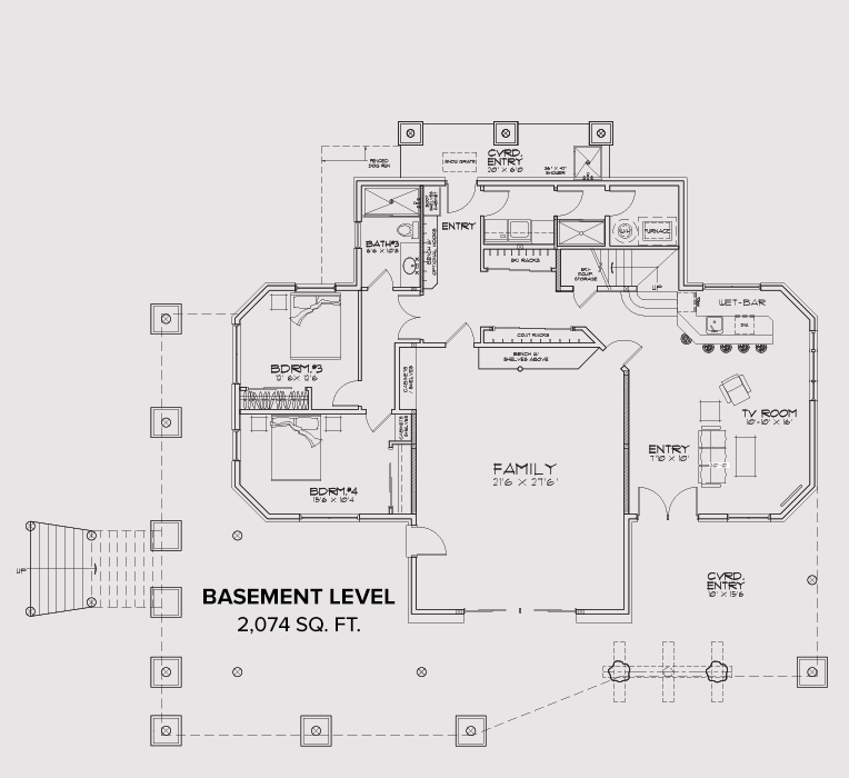 Windermere Basement Floor Floor Plan