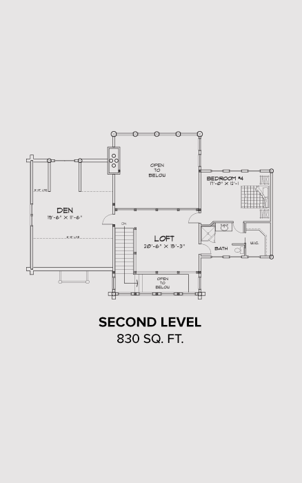 Woolwich Second Floor Plan