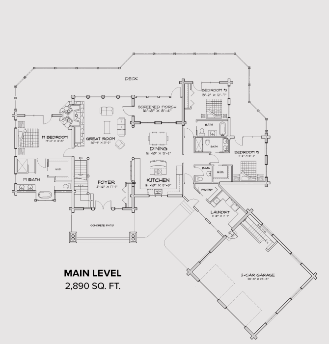Woolwich Main Floor Plan