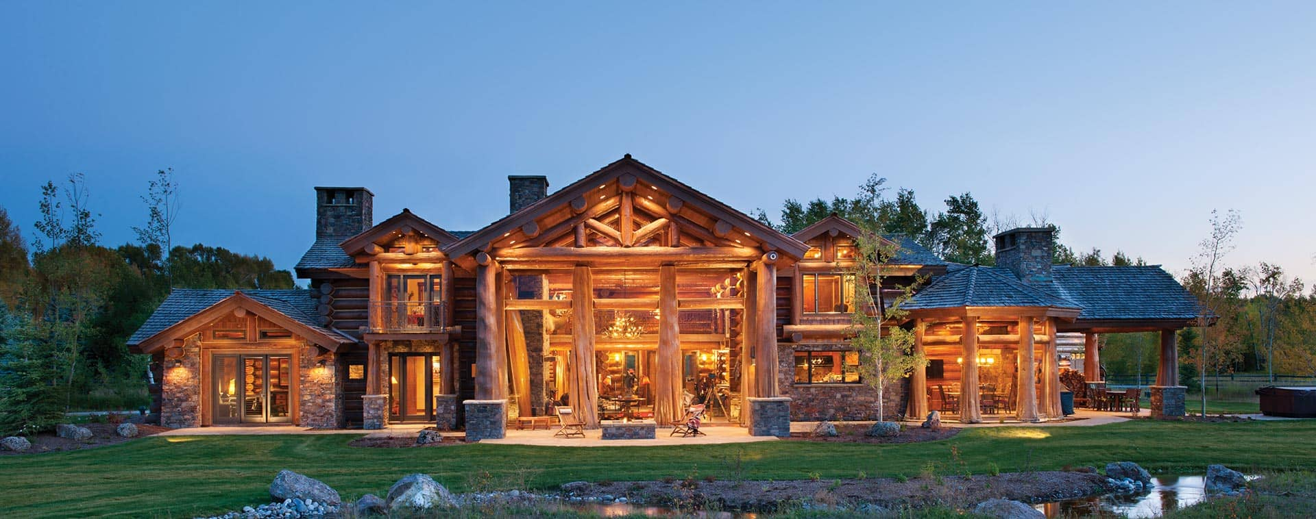 Precisioncraft Log Amp Timber Homes Custom Log Home Builder