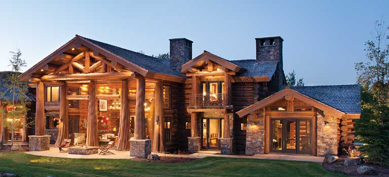 Stupendous Precisioncraft Log Timber Homes Custom Log Home Builder Download Free Architecture Designs Rallybritishbridgeorg