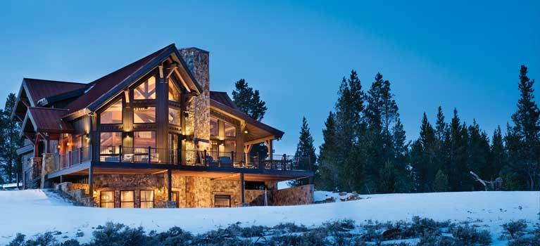 Precisioncraft Log Timber Homes Custom Log Home Builder