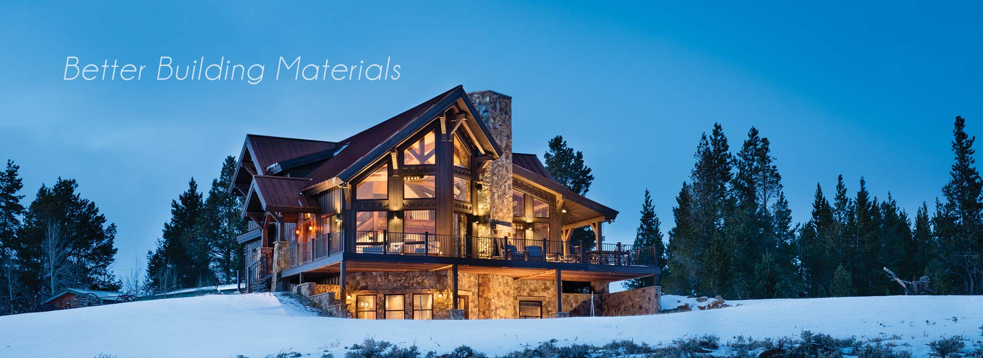 Mountain Timber Frame Home