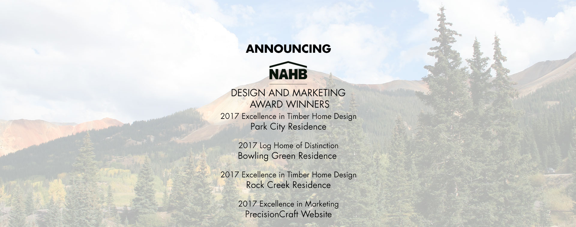 NAHB Award Winners