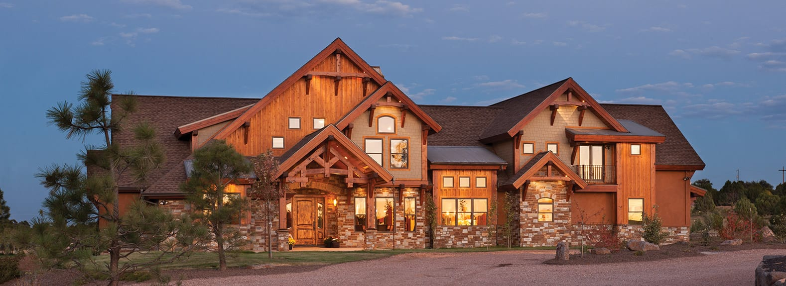 Lovely Mountain Style Homes #3: Timber Frame Homes