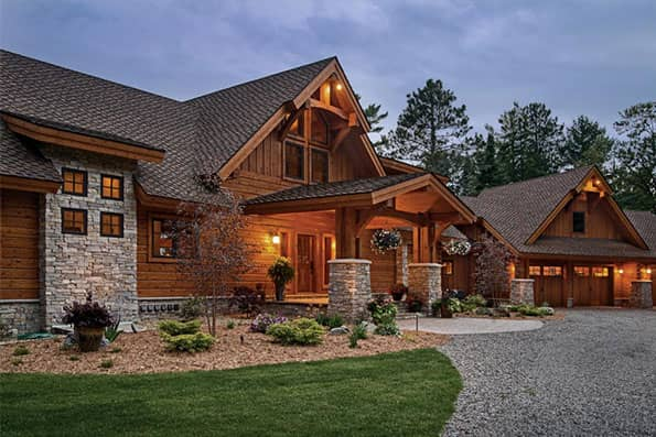 Excellence in Log Home Design Eagle River
