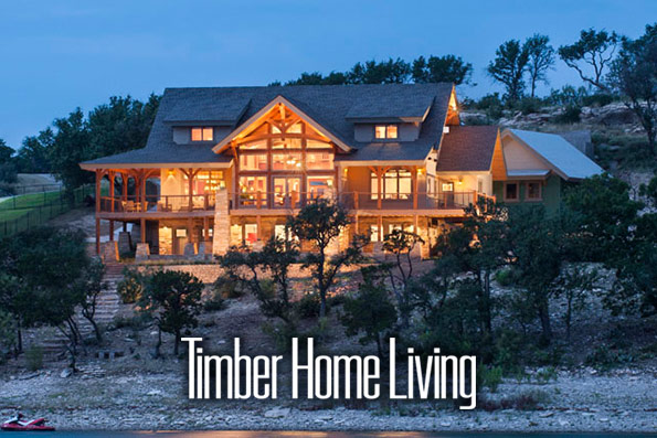Possum Kingdom Residence, Timber Home Living