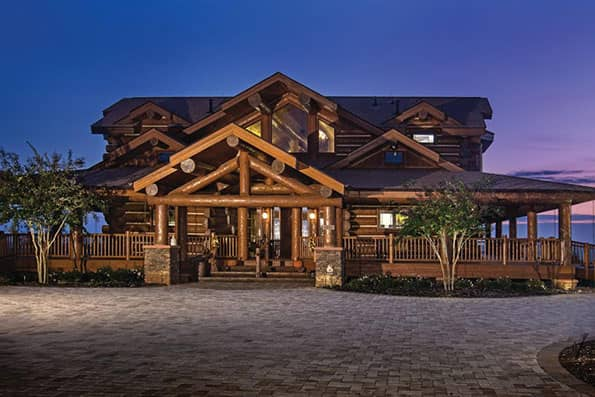 Excellence in Log Home Design Norwood