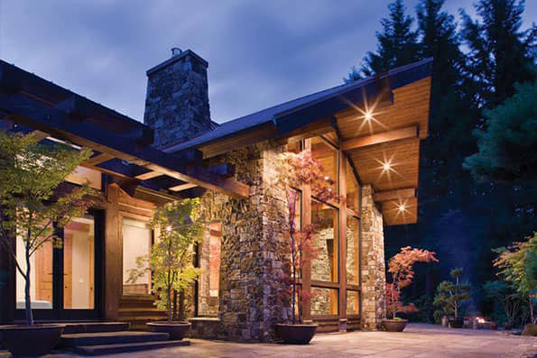 Excellence in Timber Home Design Washougal