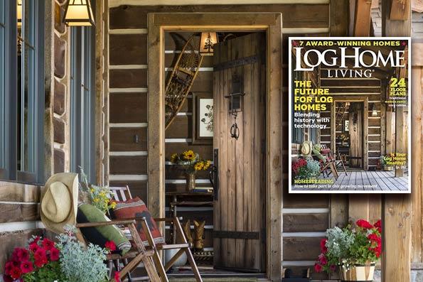 Steamboat Springs Residence, Log Home Living