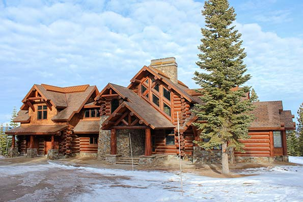 Tahoe Log Home 09-024