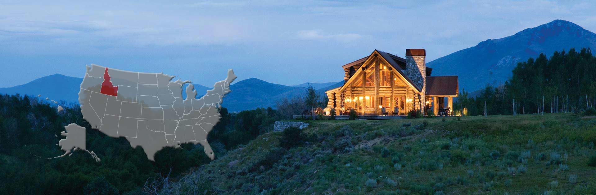 Idaho Log And Timber Frame Homes
